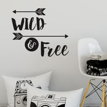 Wild and Free Wall Sticker