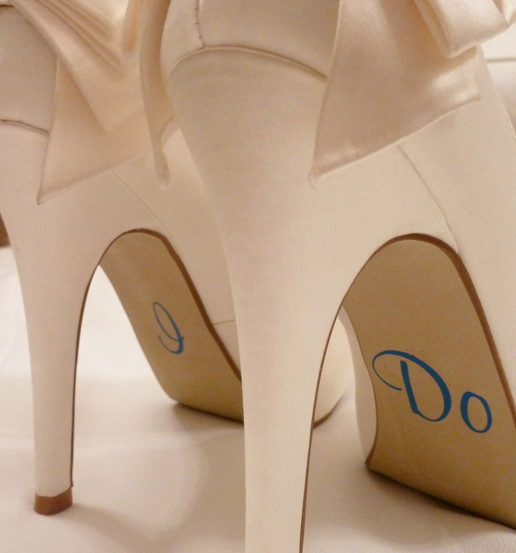 Wedding Shoe Stickers