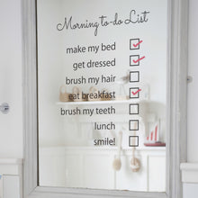 Mirror Sticker To Do List