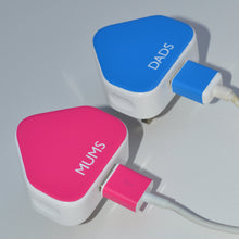 personalised Sticker for iPod/iPhone/iPad charger