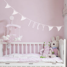 Bunting Wall Sticker Personalised