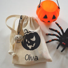 Halloween Personalised Favour Bag