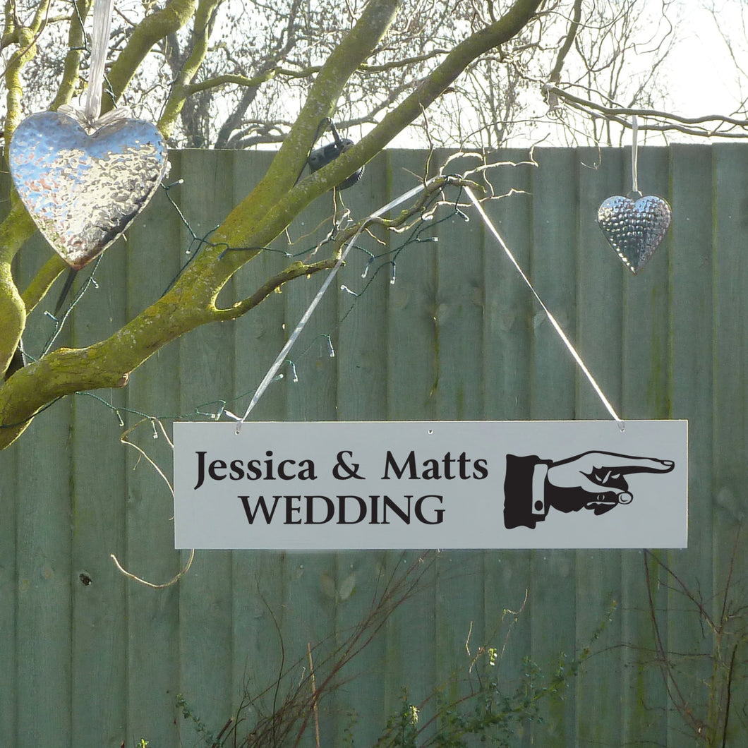 Wedding Sign Personalised