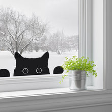 Peeping Cat Window Sticker