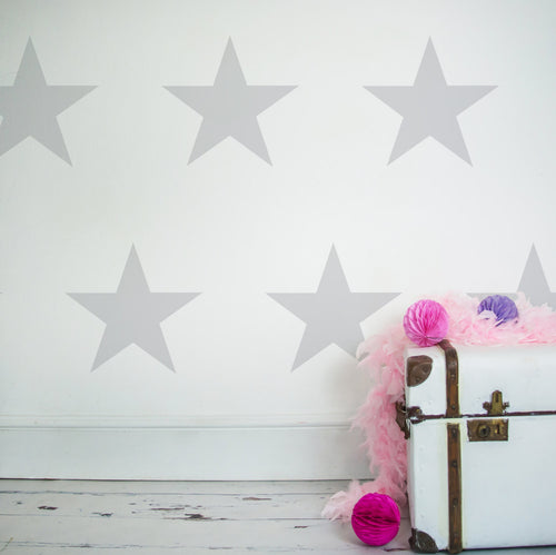 Individual Large Star Wall Stickers