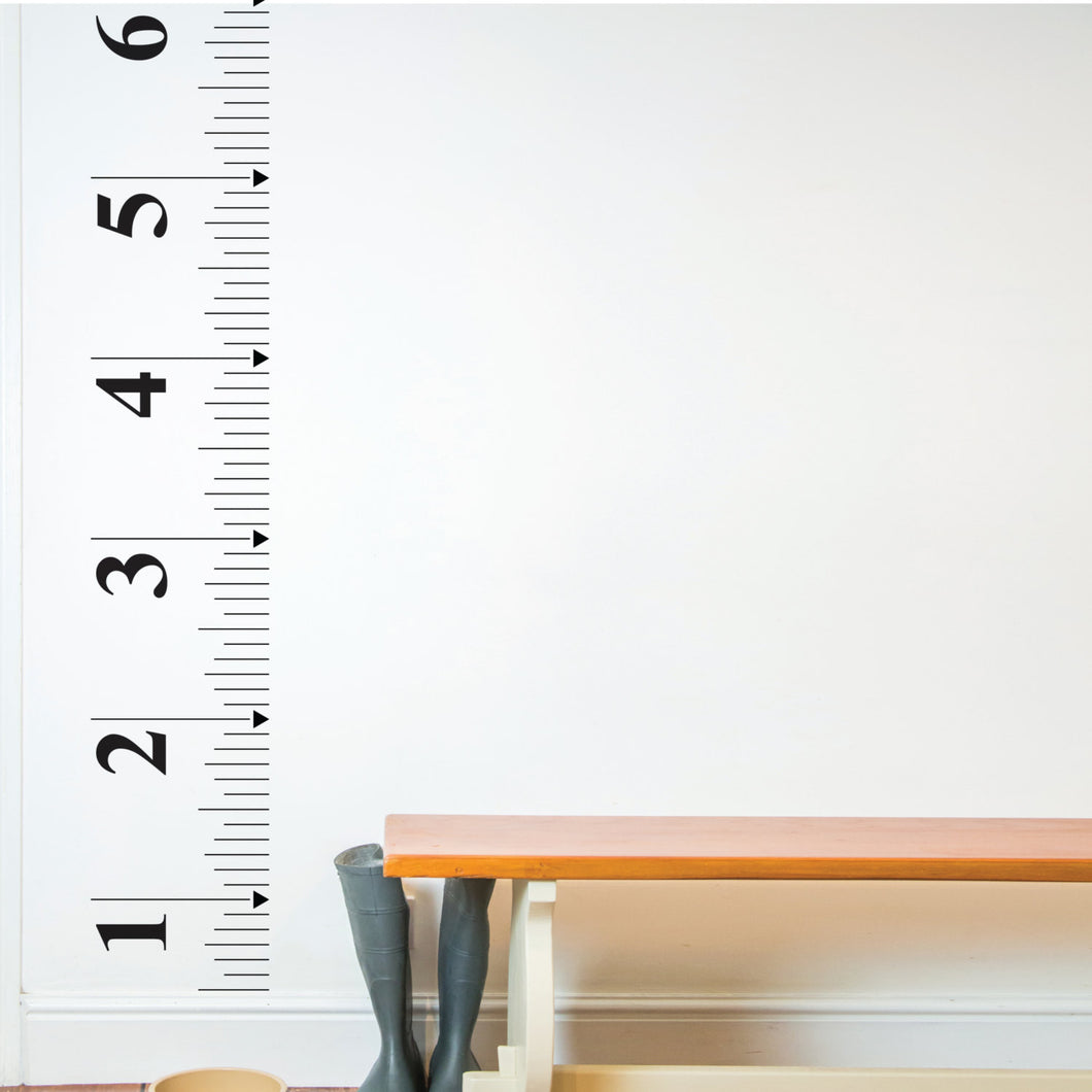 Wall Sticker Tape Measure Growth Chart