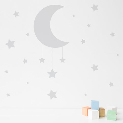 Moon and Stars Wall sticker