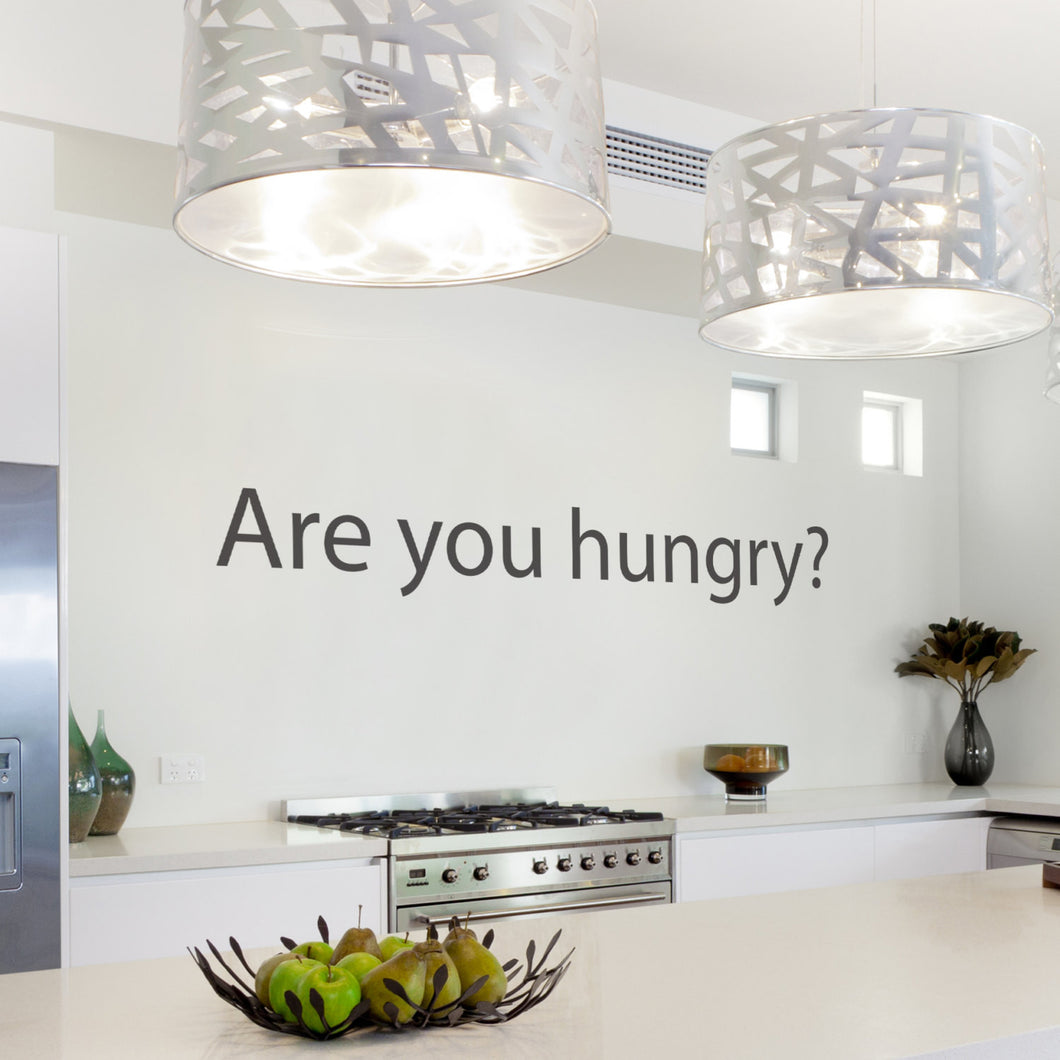 Wall Sticker Are you hungry?