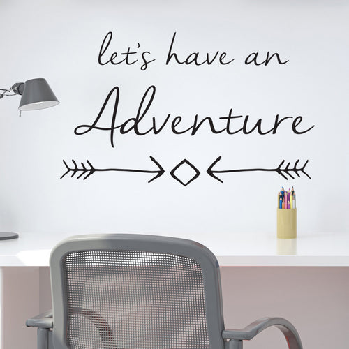 Wall Sticker Lets have an adventure