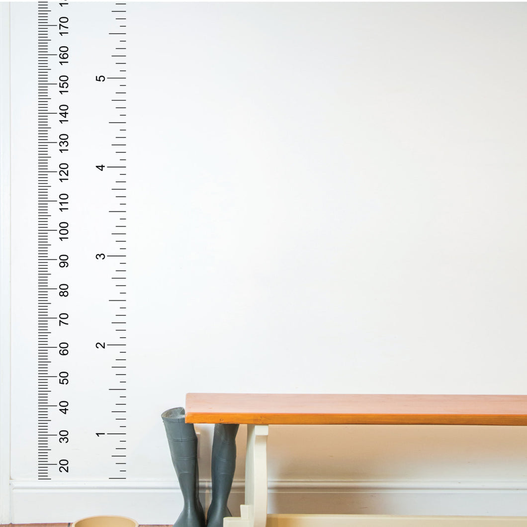 Wall Sticker Ruler Growth chart