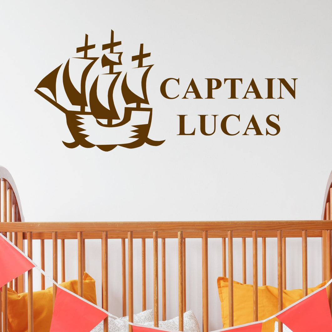 Wall Sticker for Pirates