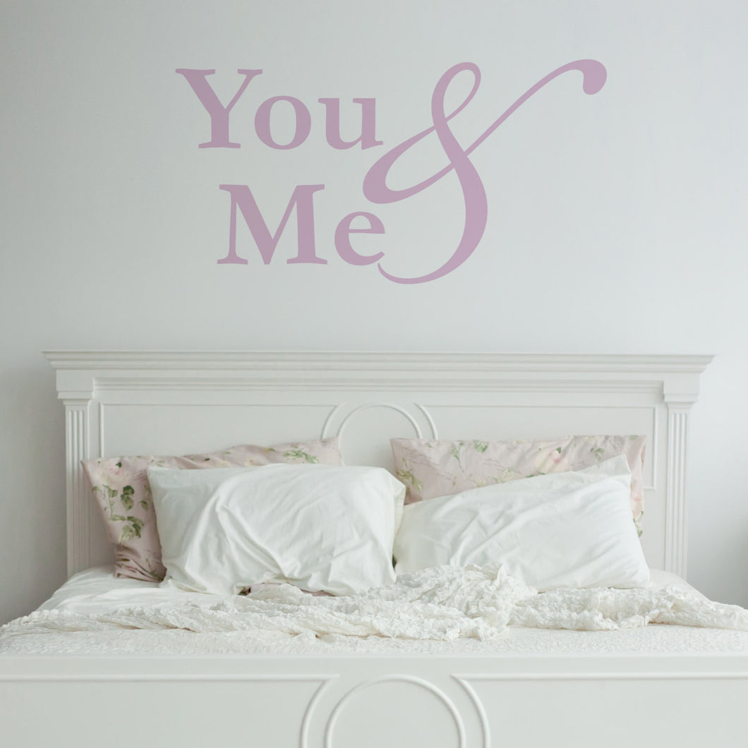 Wall Sticker You and Me