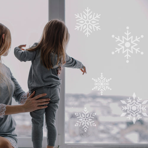 Large Snowflake window / Wall Stickers