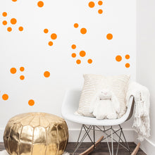 Neon Confetti Dots Wall Stickers