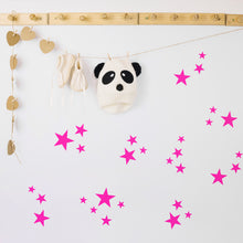 Neon Confetti Stars Wall Stickers