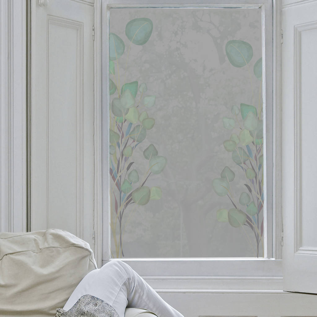 Eucalyptus Frosted Window Film