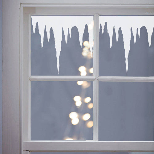 Icicles Window or Wall Stickers