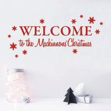 Personalised Welcome to our Christmas