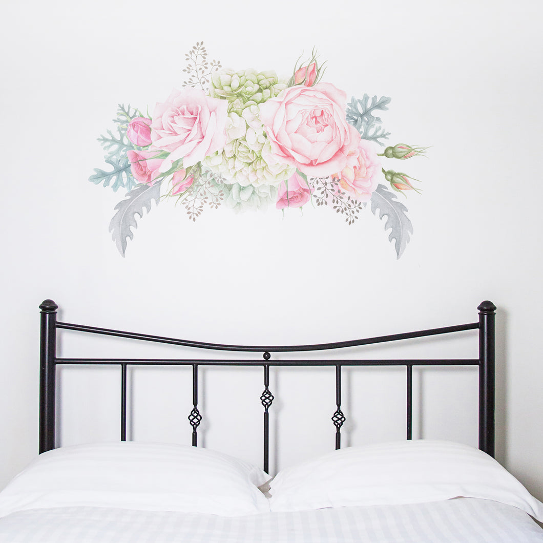Pastel Florals Wall Sticker