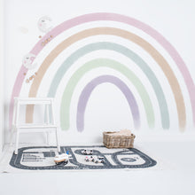Large Watercolour Rainbow Wall Sticker