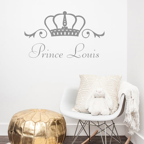 Prince name wall sticker
