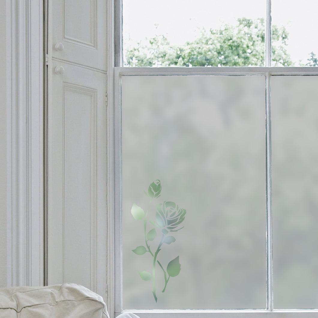 Rose Frosted Window Film
