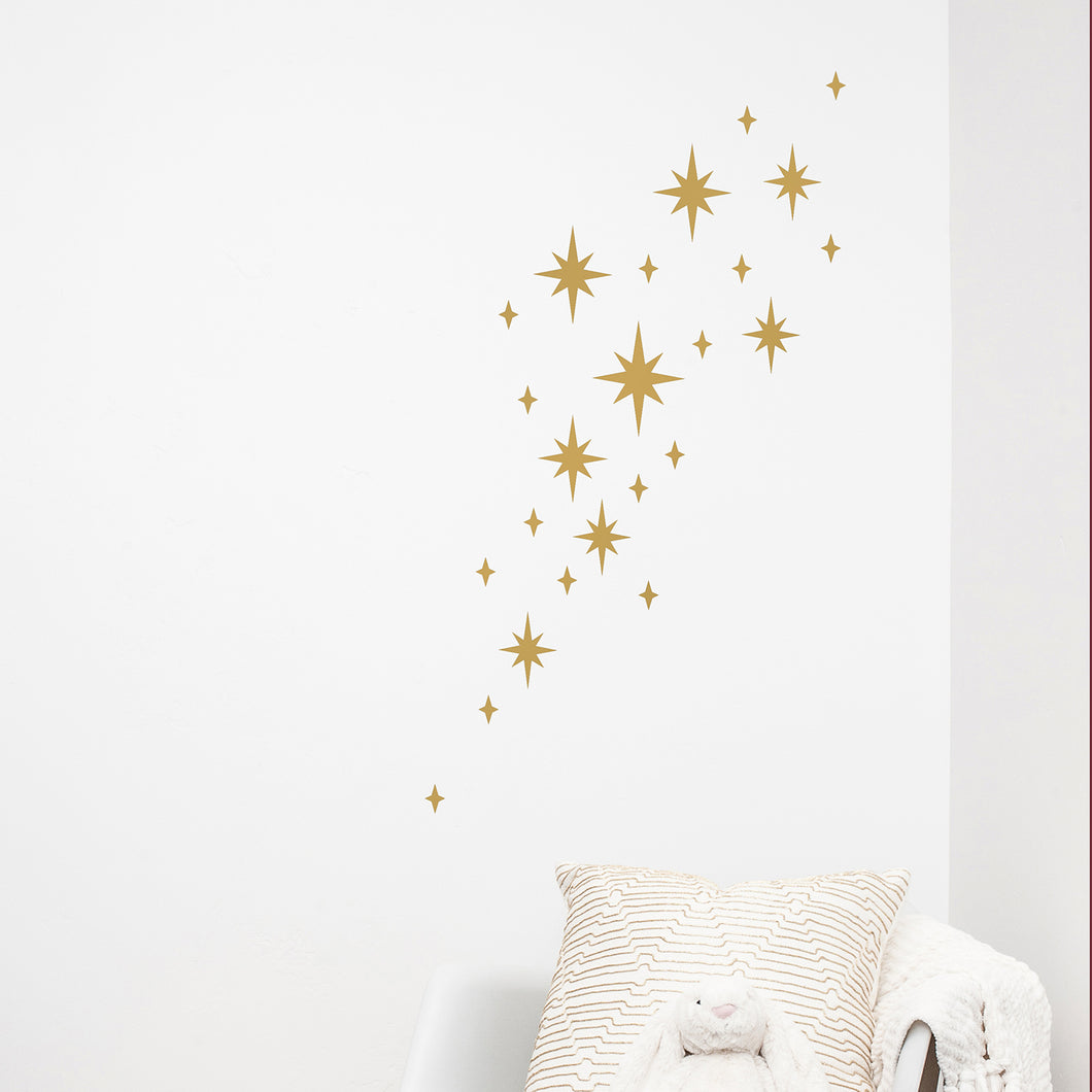 Scatter Stars Decorative Wall Stickers