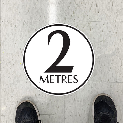 Simple 2M Floor Graphics