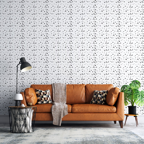 Spotty Self-Adhesive Wallpaper