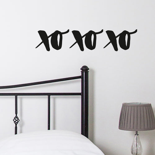 Ellen Waldren Xo Xo Xo Wall Sticker