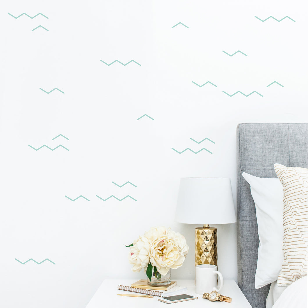 Zig Zags Wall Stickers