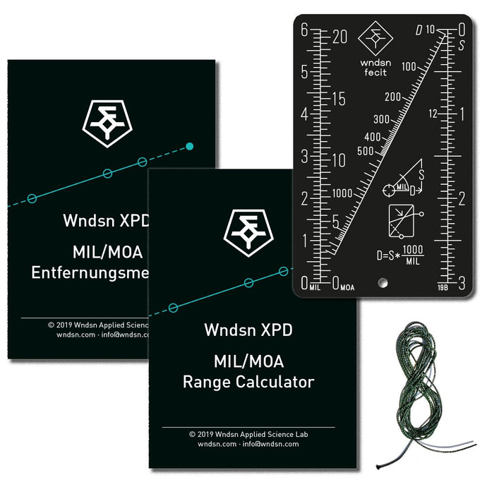 WNDSN XPD @ Spartanat: Review of our MIL/MOA Range Calculator