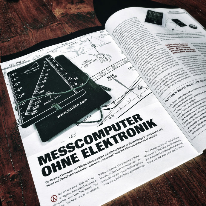 German Survival Magazin: Messcomputer ohne Elektronik