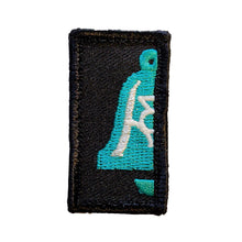 Freedom Bell 1x2 GITD Patch