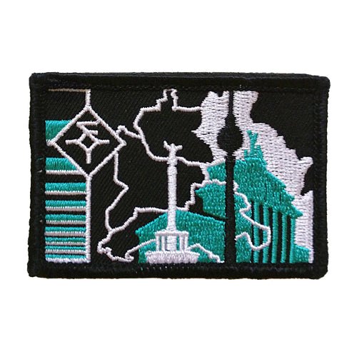 Berlin: Outpost of Freedom 2x3 3C Patch