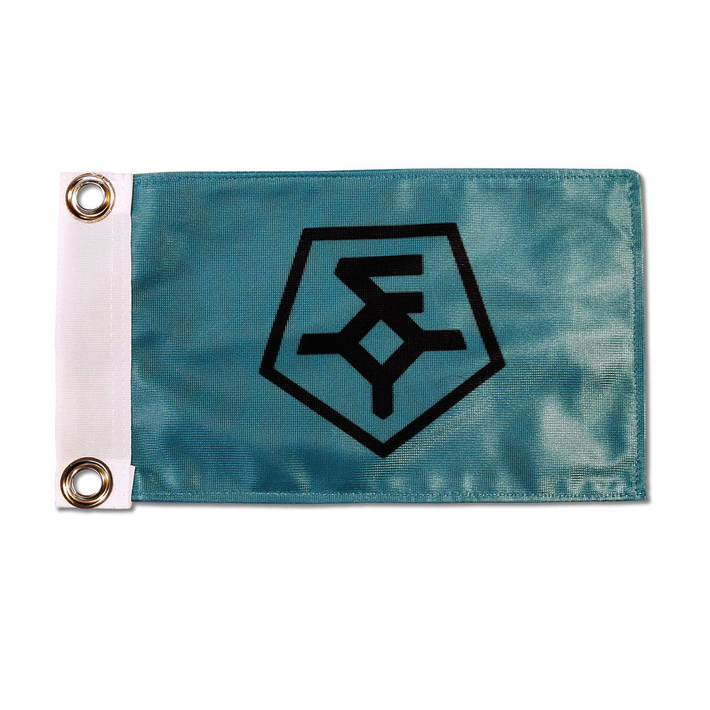 Wndsn Expedition 2021 Logo Flag Turquoise