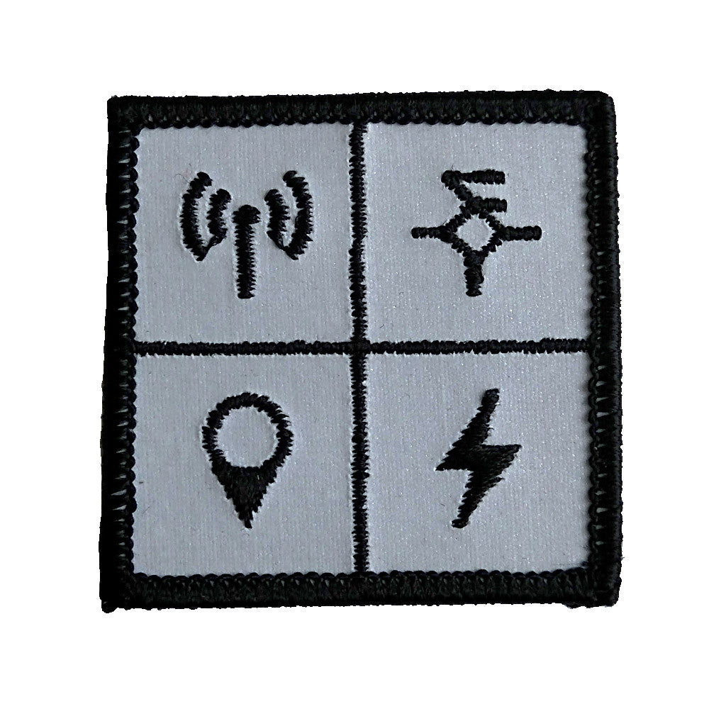 Wndsn High Frequency Retroreflective Limited Edition Patch