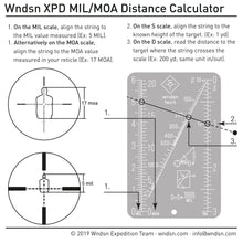 Wndsn Mil/Moa Range Calculator (MMC)