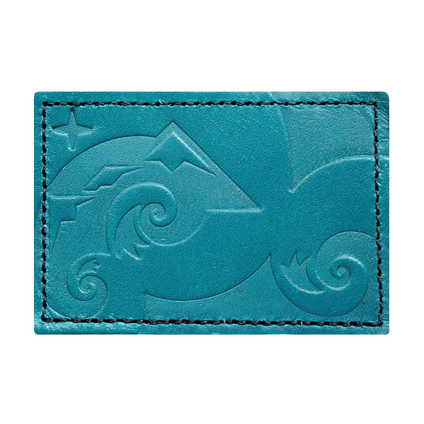 Perpetual Explorer 2x3 Turquoise Leather Patch