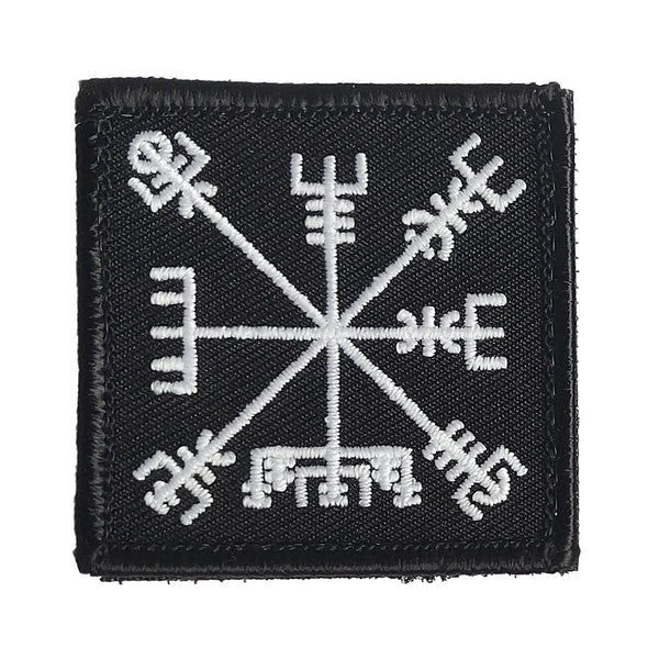 Wndsn Vegvisir - Travel Well GITD Patch