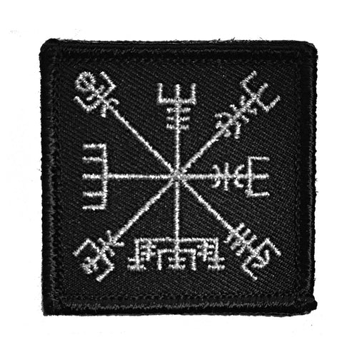 Wndsn Vegvisir - Travel Well Silver Patch