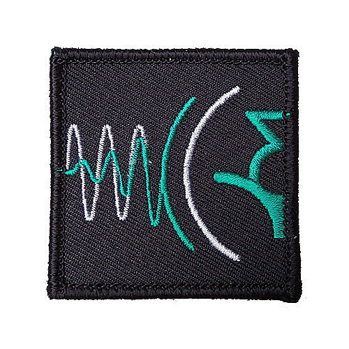 Wndsn High Frequency Turquoise Patch