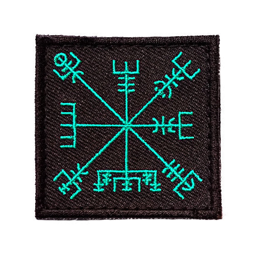 Wndsn Vegvisir - Travel Well Black Patch