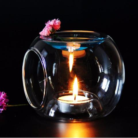 Glass Lamp for Aromatherapy