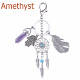 Hamsa, Dream Catcher and Crystal Keyring and So Much More