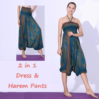 NEW This Summer -  2 in 1 Dress and Harem Pants