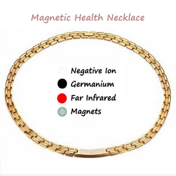 Magnetic Necklace with AAA Cubic Zirconia Stones