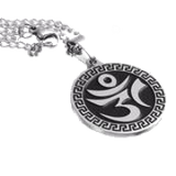 OM Stainless Steel Necklace
