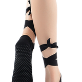 Yoga Socks - Ballet Ribbon & Anti-Slip