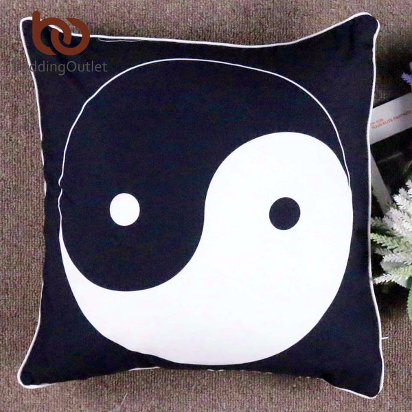 Yin Yang Taiji Cushion Cover